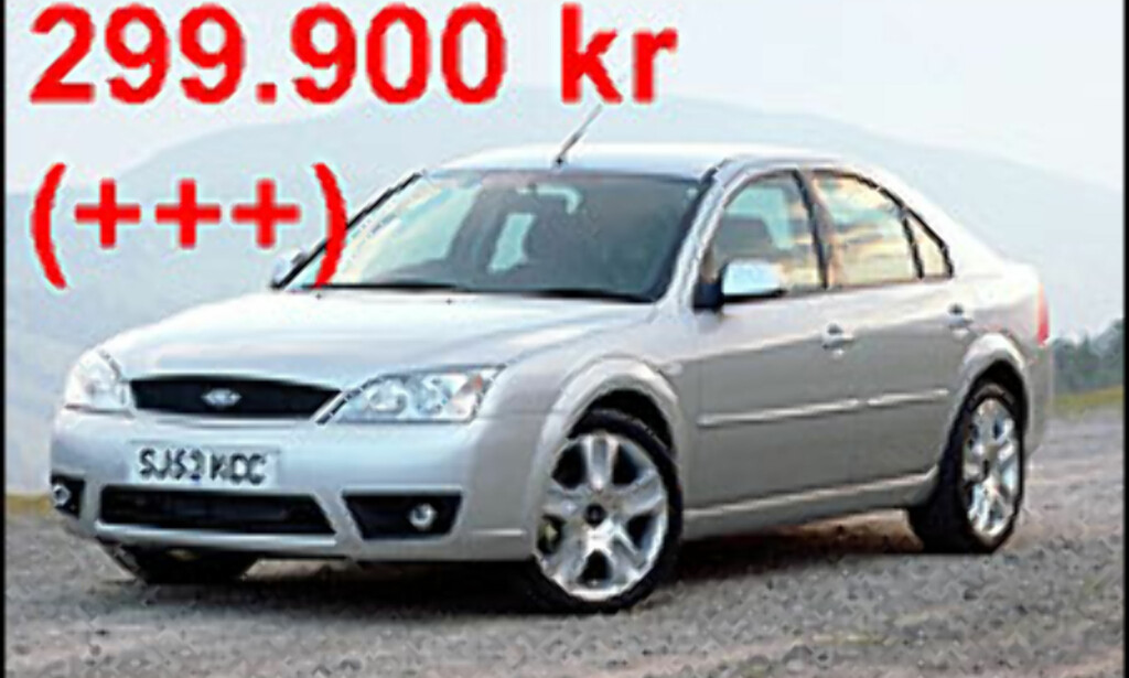 KAN FORT BLI DYRT: Selv om du har skrapet sammen 300.000 kroner, betyr ikke det nødvendigvis det samme som at du har råd til en nybil som ifølge annonsen koster 299.900 kroner.