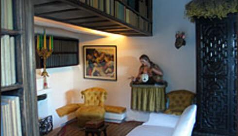 Salvador Dalís hus hus og atelier i Cadaqués har vakre interiører.  Foto: Inga Holst Foto: Inga Holst