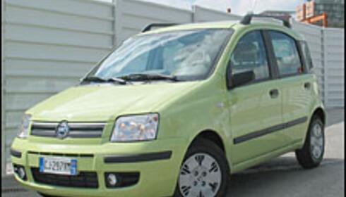 """Fiat Panda """"Årets bil 2004"""""""