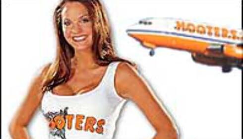 Hooters Air fronter sine fordeler ...