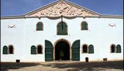"""Groot Constantia er landets eldste vingård. I tillegg til vinproduksjon er det museum her, og du kan få mat i gårdens gamle """"gentlemens quarter"""" som forøvrig ligger vegg i vegg med det tidligere slavekvarteret."""