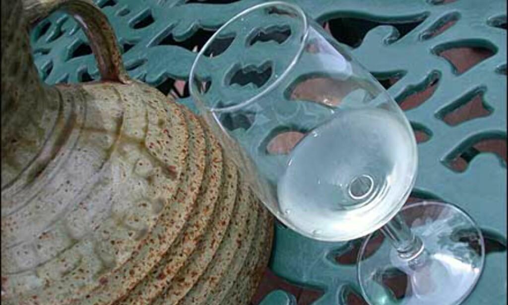 Vinsmaking med spyttemuligheter.