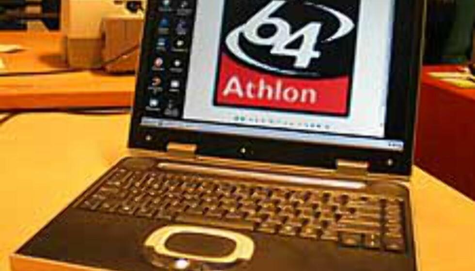 Athlon 64 i bærbar PC -