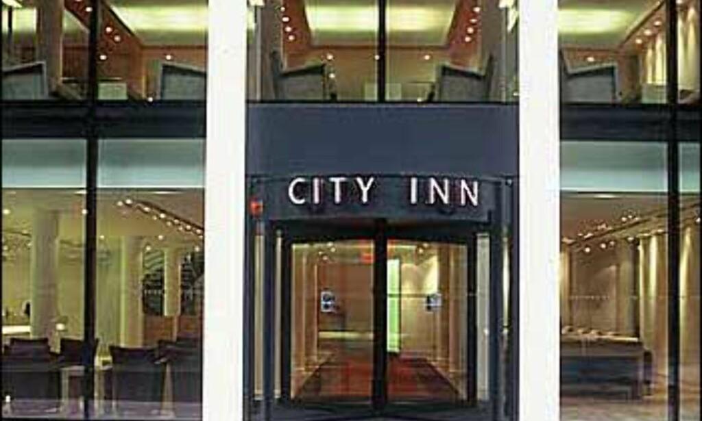 Inngangspartiet til City Inn.
