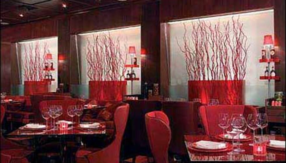 Restauranten på Hotel Aleph.