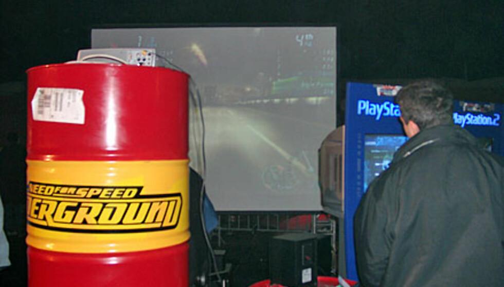 Need for Speed Underground var på plass