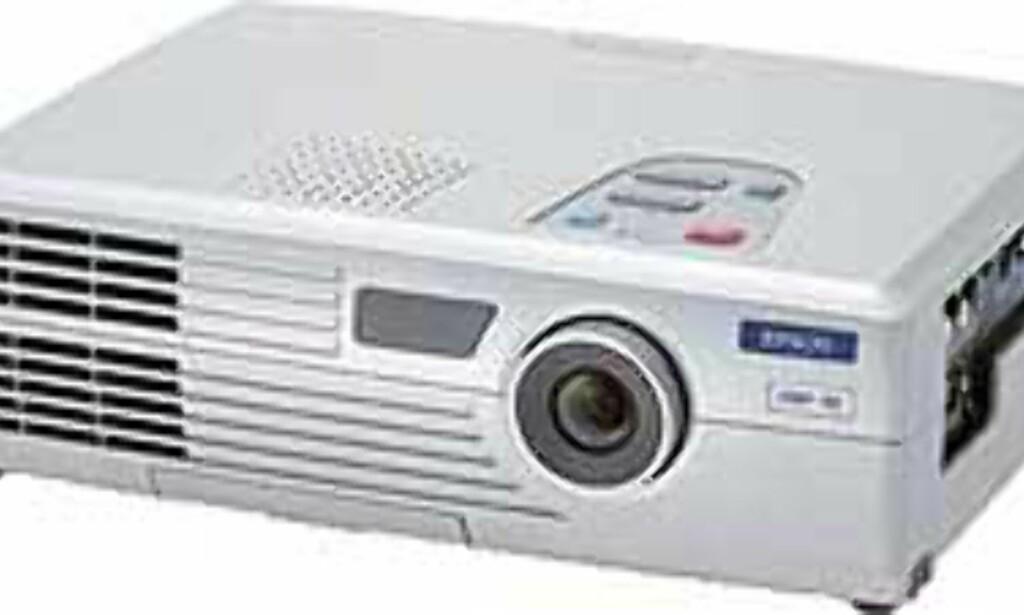 Det er denne projektoren som selges til 7990 hos Elkjøp i disse dager.