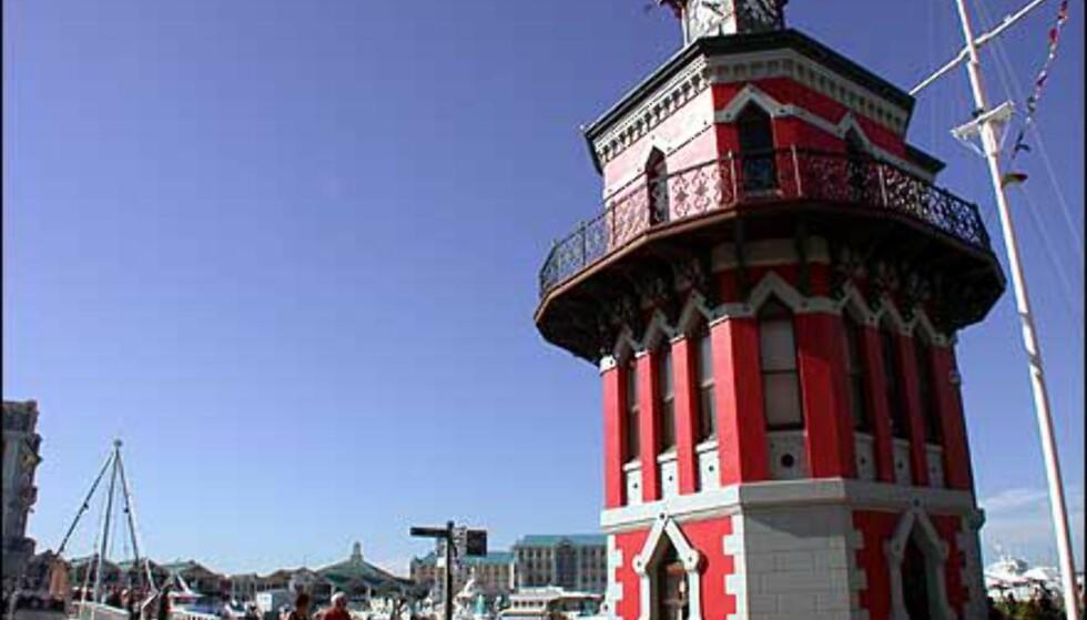 Klokketårnet på Victoria & Alfred Waterfront er et av byens landemerker.