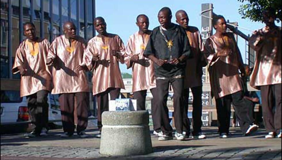 Nydelig afrikansk sang, gratis for den gjerrige.
