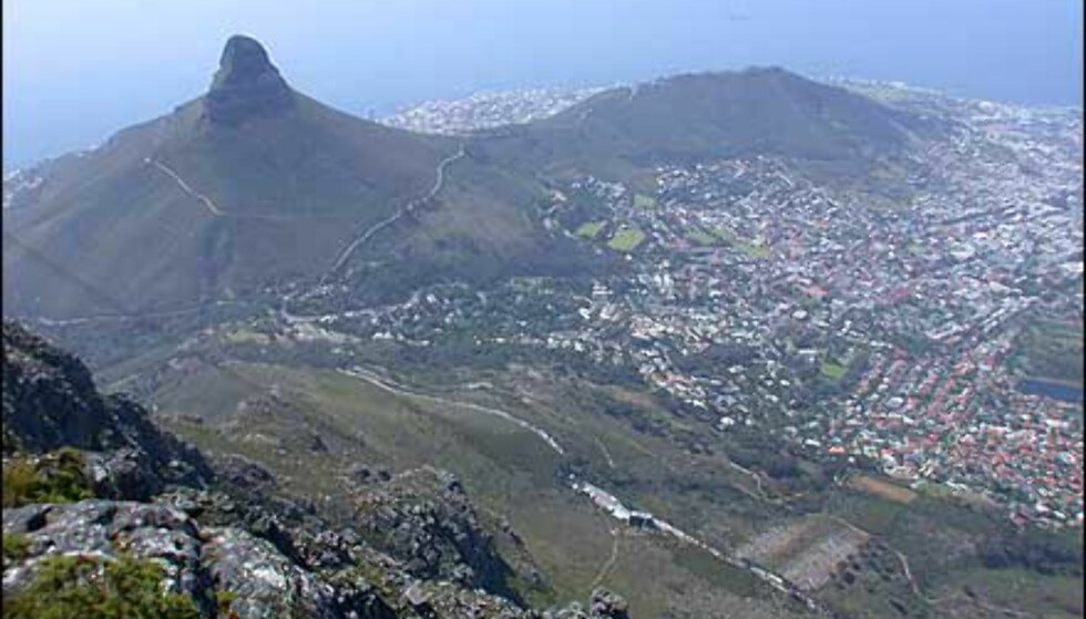 Lions Head er også en spesiell fjellformasjon i området ved Cape Town.