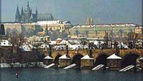 Snart vinter og julestemning også i Praha.