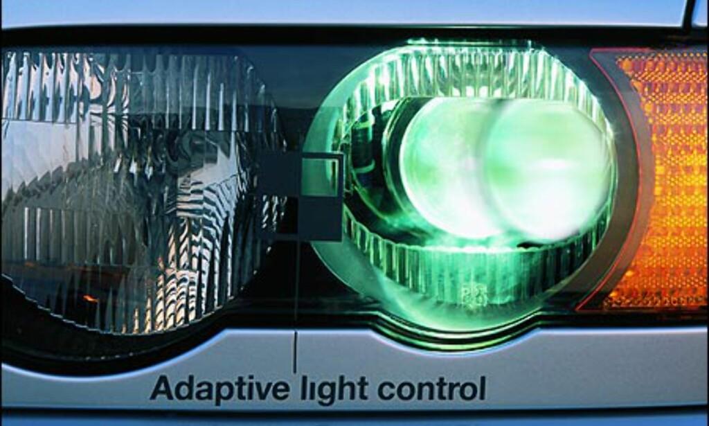 """""""Adaptive kjørelys"""" fra BMW."""