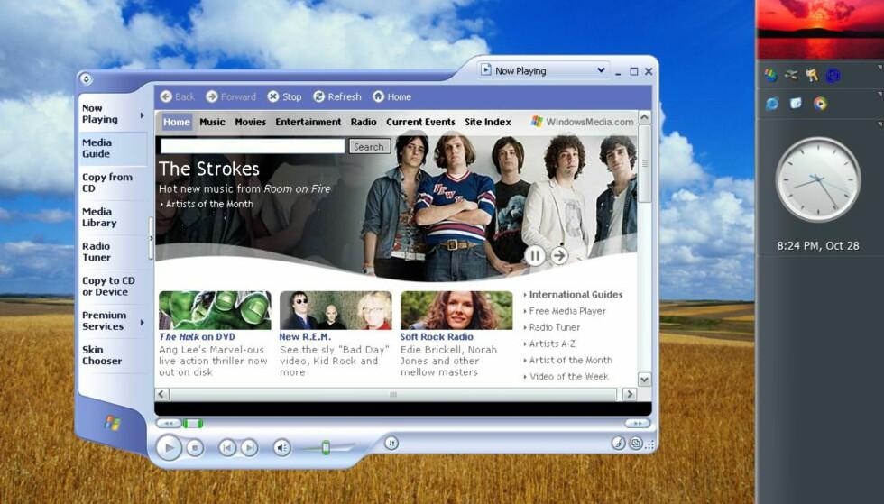 Windows Media Player er fortsatt i versjon 9.