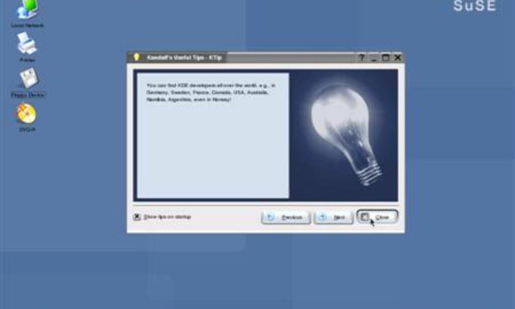 Grensesnittet er både pent og ryddig, og har en del likhetstrekk med MacOS X.