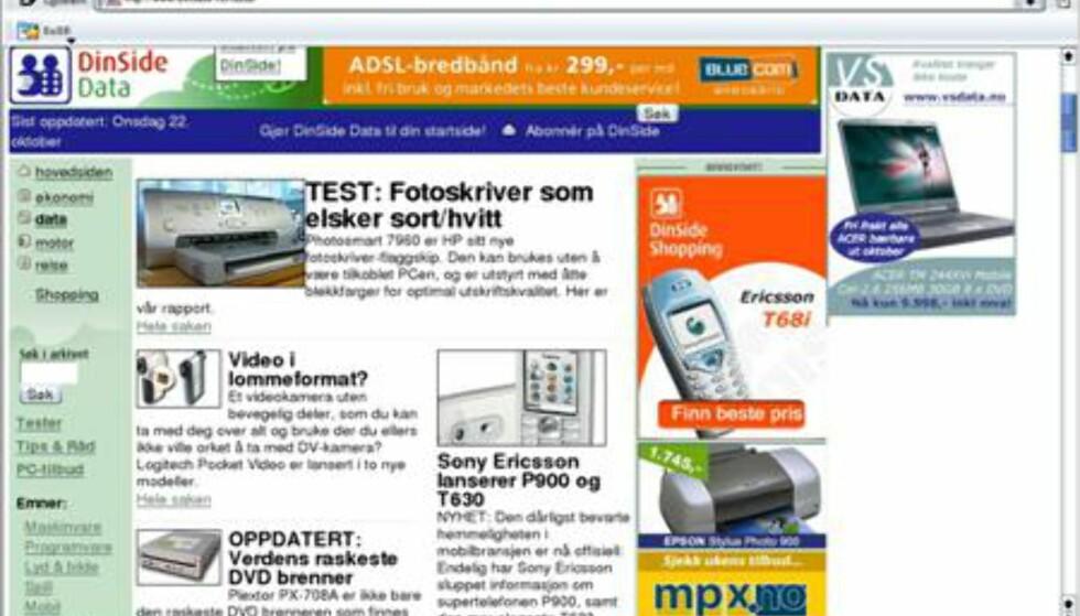 Konqueror er navnet på standard nettleser i SuSE Linux. Den er kjapp, og leser de fleste nettsider omtrent som Internet Explorer.