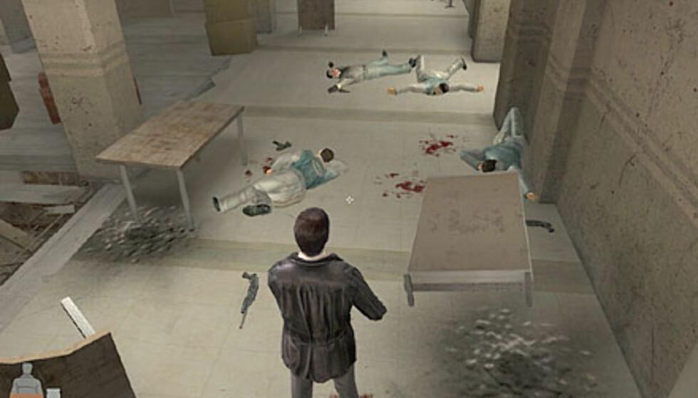 Max Payne 2 skjermbilder