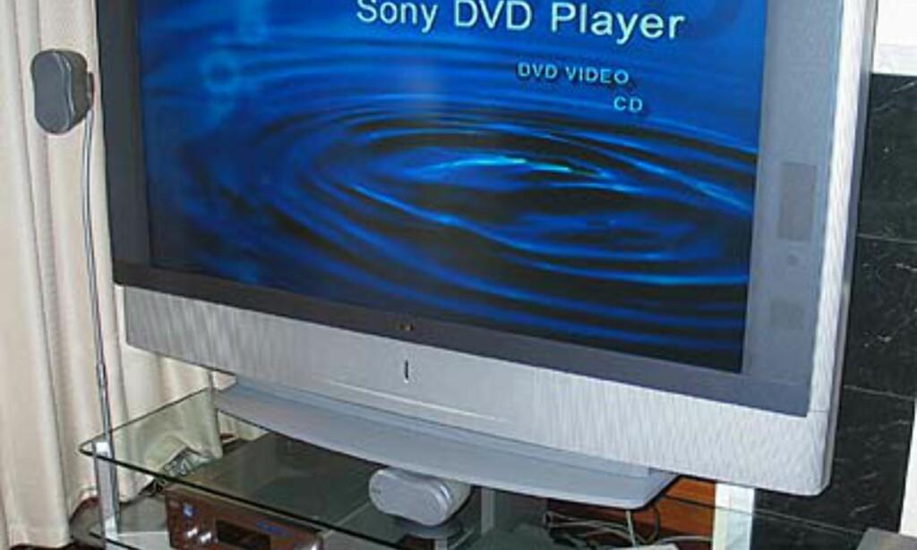 Stor og lekker Sony modell.