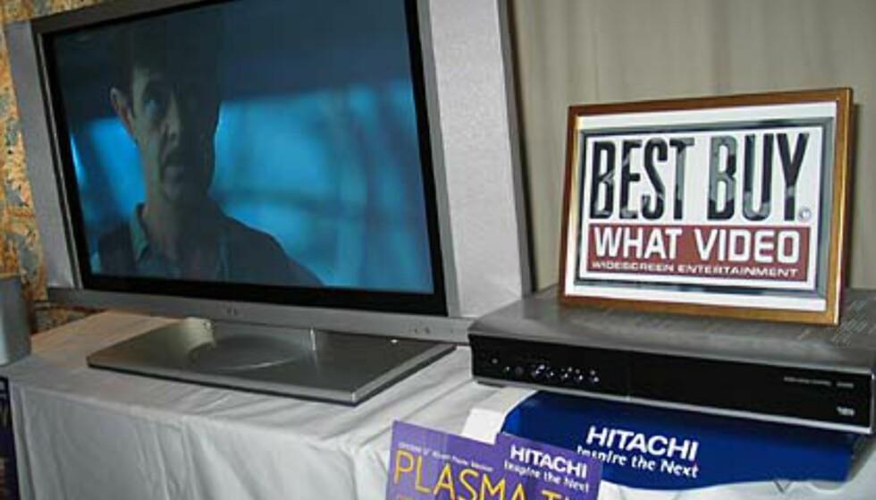 Flott plasma-modell fra Hitachi.