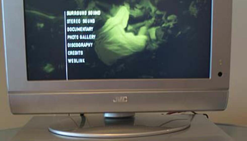 Liten og lekker LCD-skjerm fra JVC