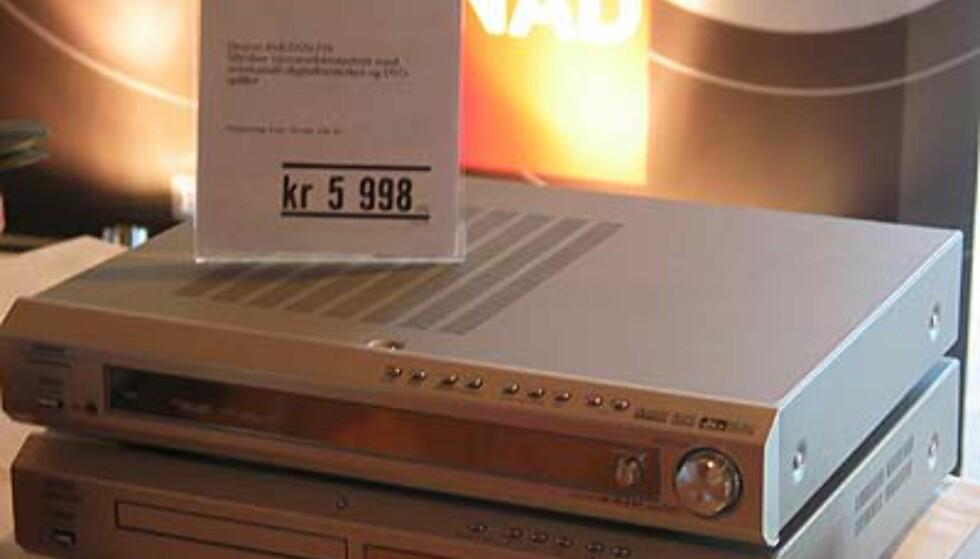 Se stereo & surround-produktene