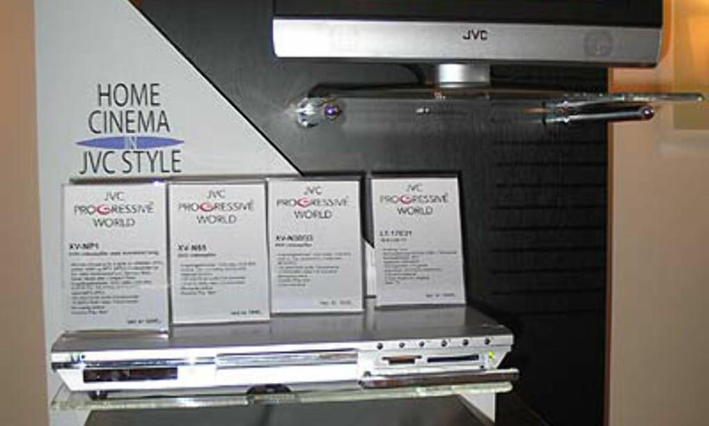JVC har mange DVD-modeller til gunstig pris.