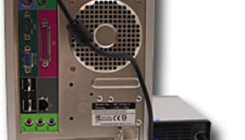 Mini-PC med håndgass