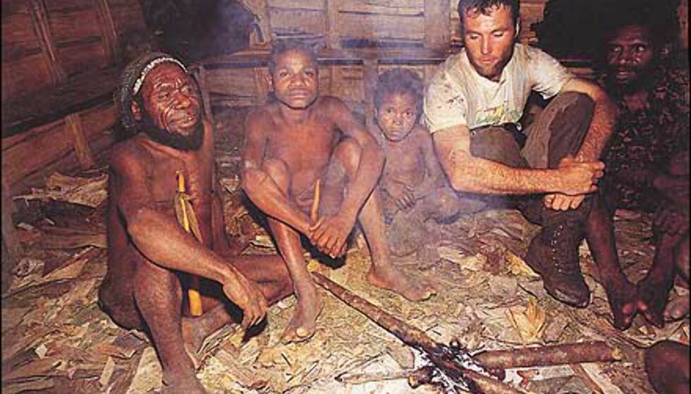 Gjestfrihet og penisfutteraler på Papua Ny-Guinea. Faksimile fra boka. Gjengitt med tillatelse fra Orion forlag.