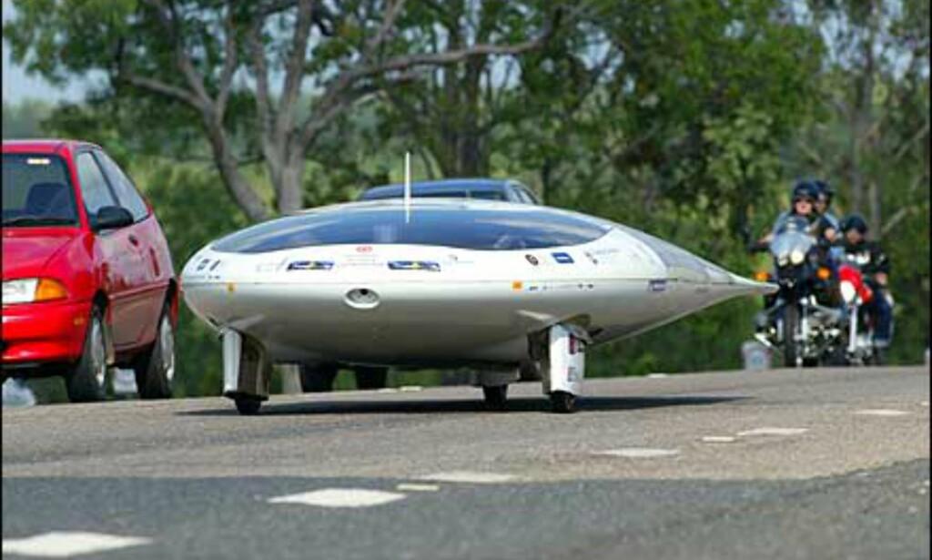 Nærmere UFO går det nesten ikke å komme - Kormilda kalles denne bilen.