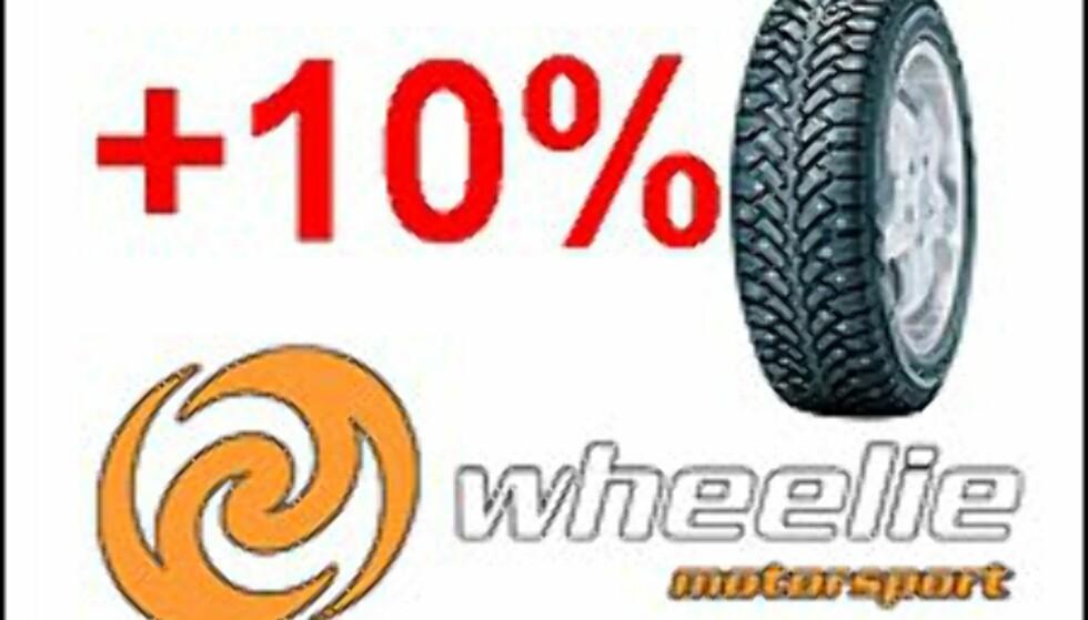 <strong>SVEKKET TILLIT:</strong> Dekkforhandleren Wheelie i Trondheim holdt ikke det de lovet DinSide. Vår tillit til Wheelie er derfor svekket.