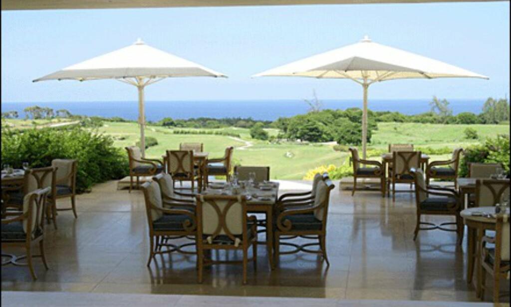 Golfbanene og restauranten retter seg mot den velhavende del av markedet. (Alle bilder: Dag Yngve Dahle)