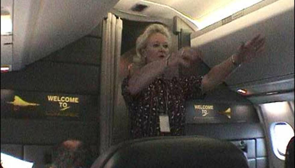 Sikkerhetsinstruksjoner er en del av gamet, selv om Concorde ikke har vært rammet av mer enn en fatal ulykke.