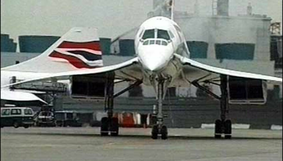 Concorde tar av fra Heathrow. Foto: British Airways Foto: British Airways