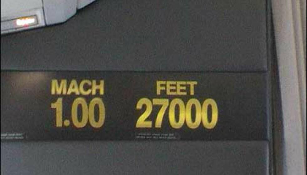 Mach 1...
