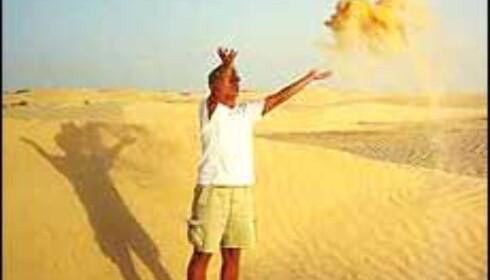 Det er fortsatt sommerhett i Tunisia. <I>Foto: Berit Fjell</I> Foto: Berit Fjell Kamhaug