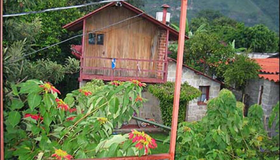 Utsikten fra hotellet i Pana.
