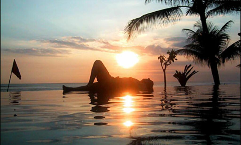 Bassengliv i Kuta, Bali. Foto: Osmund Stray Foto: Osmund Stray