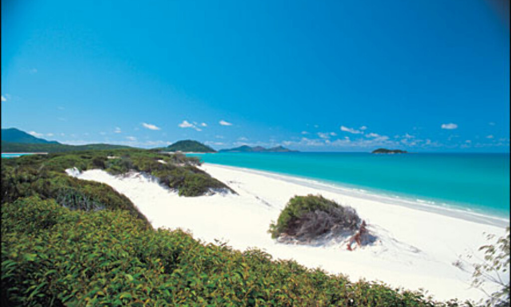 Whitehaven Beach, Whitsunday Island. Foto: Peter Lik/Tourism Queensland Foto: Peter Lik/Tourism Queensland