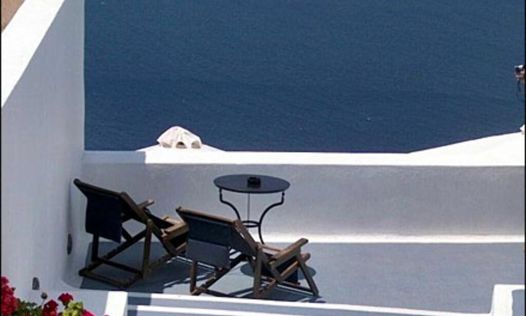 Utsikt på Santorini. Foto: Toralf Levang Jr Foto: Toralf Levang Jr