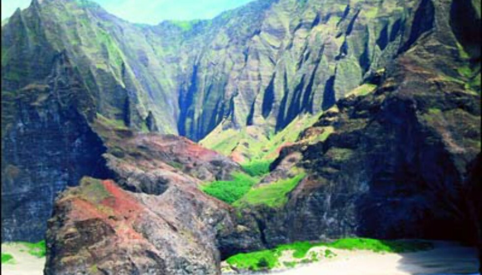 Kauai, Napali Cliffs. Foto: HVCB/Robert Coello Foto: HVCB/Robert Coello