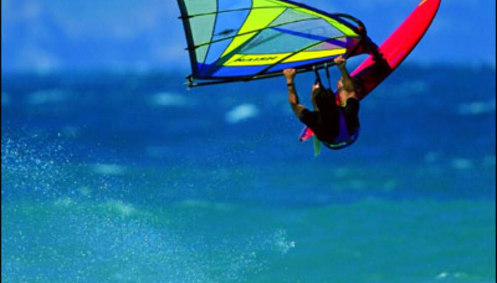 Vindsurfing på Maui. Foto: HVCB/Ron Dahlquist Foto: HVCB/Ron Dahlquist