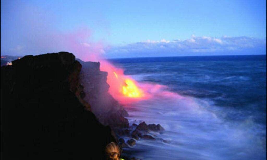 Aktive vulkaner på Hawaii. Foto: HVCB/Kirk Lee Aeder Foto: HVCB/Kirk Lee Aeder