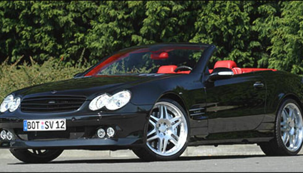 Den samme V12-motoren med 640 hestekrefter finnes også i SL.
