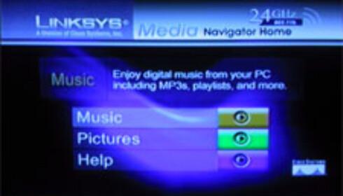 Trådløst fra PC til TV og musikkanlegg