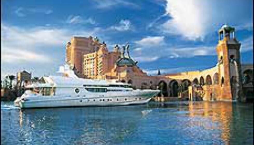 Marina på Atlantis, Bahamas.  Foto: Kerzner