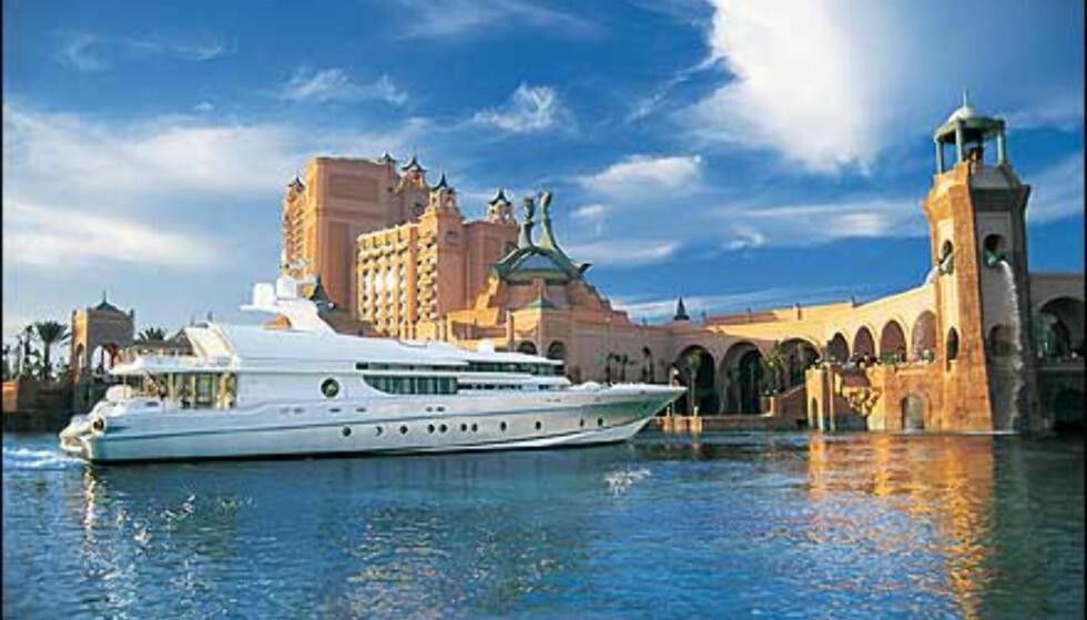 Marina på Atlantis.  Foto: Kerzner