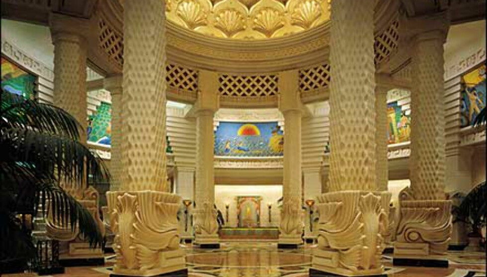 Royal Towers lobby. Foto: Kerzner