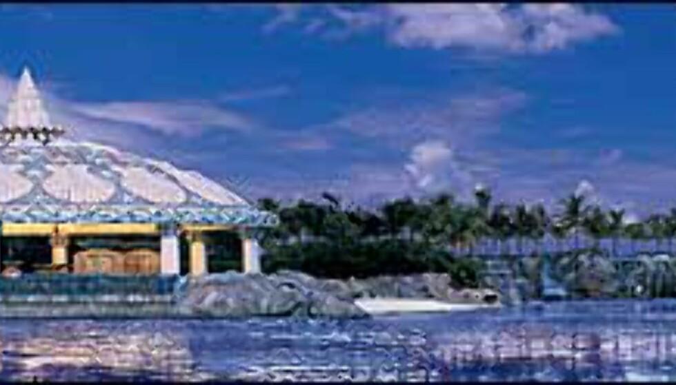Lagoon Bar heter dette byggverket. Foto: Kerzner
