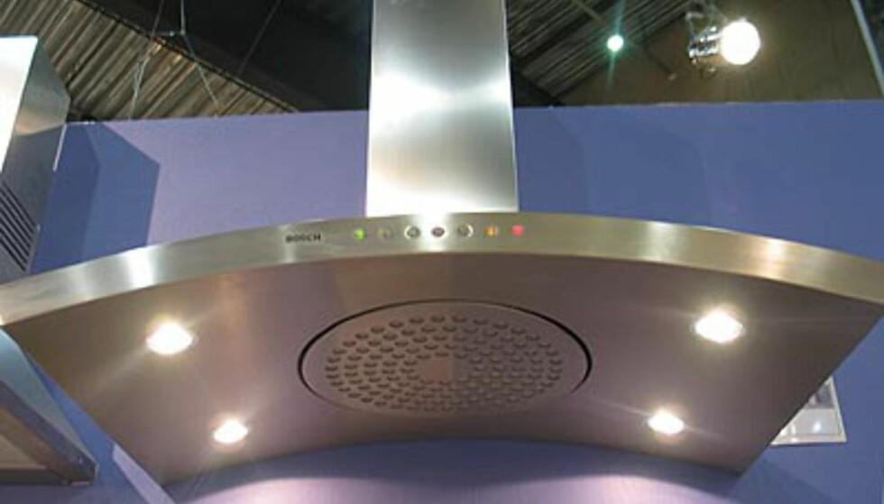 Ventilatorer er ikke lenger trauste og hvite. Denne er fra Bosch