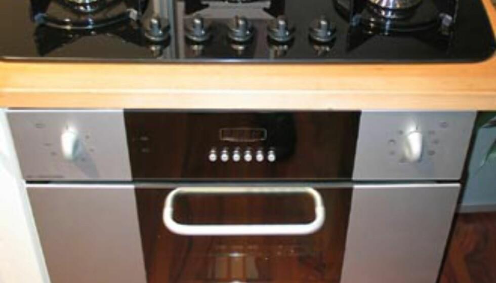 Kombinasjon fra Primus: Innbygningsovn og fem gassbluss (Alu&Black). Totalt rundt 15.300 kroner. Be om messetilbud.