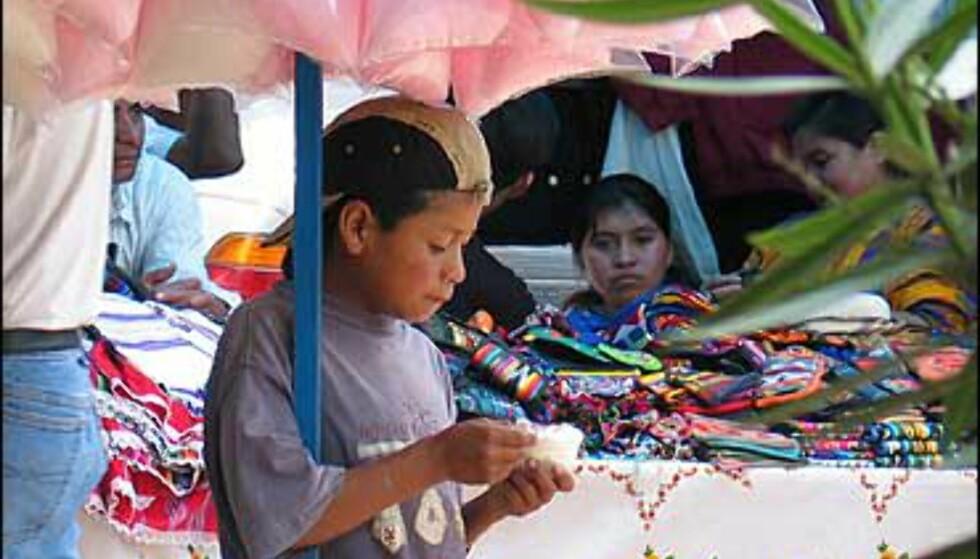 Det gjør vondt å se små barn jobbe. Foto: Lene Heiberg